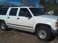 I am offering my 1996 GMC 2500 Suburban SLE.3/ 4 Ton