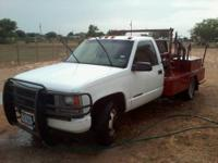 I am selling a 1996 GMC welding truck 350 diesel. It
