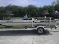 1996 17ft Grumman Boat, Lots of Extras! 50hp Johnson