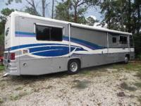 1996 GULFSTREAM TOURMASTER DIESEL PUSHER WITH AN M11