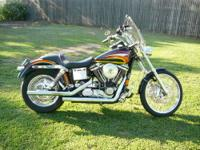 1996 Harley Davidson 'Dyna' convertible, COMPLETELY