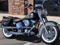 1996 Harley Davidson FLSTN Heritage Nostalgia with only