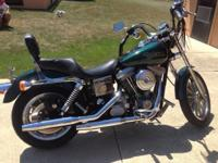 You are looking at a 1996 Harley Davidson Dyna Super