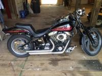 Very nice 1996 Springer Softail. Only 27K miles, engine