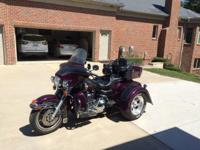 1996 FLHTCU with Deluxe Motor Trike conversion kit,