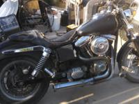 1996 Harley fxd clean Az resto/salvage title. Tags good