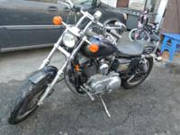 I'm selling my 1996 Harley Sportster 1200, Blue with
