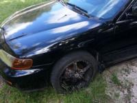 honda accord lx 1996 good running car comes with rims