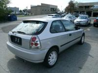 Options Included: AM/FM Radio, Rear Window Defroster,