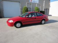 Options Included: N/AThis 1996 Honda Civic Coupe is in