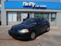 Options Included: N/A**CASH CAR** THIS IS A 1996 HONDA