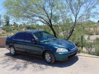 1996 Honda Civic EX in clean condition. 177K miles,