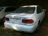 1996 HONDA CIVIC FOR PARTS ENGINE KNOKING GOOD