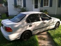 96 Honda Civic LX. 5 speed manual. 1.6 non vtec.