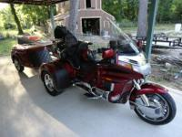 1996 HONDA GOLDWING GL1500 CALIFORNIA SIDE CAR