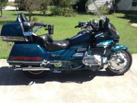 Immaculate Honda Goldwing. This bike is enjoyable to