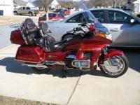 1996 Candy Spectra Red Honda GL1500 Aspencade. I