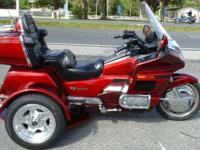 1996 Honda Goldwing trike only 52,000 miles very clean,