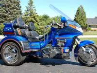 GOLD WING 1500GL This is a Motor Trike conversion. The