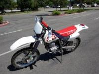1996 Honda XR 250 Motorcycle Government Liquidation