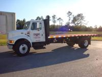 UP FOR SALE IS A 1996 INTERNATIONAL 4700 MODEL T444 E