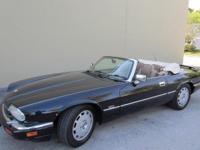THIS1996 Jaguar XJS IS A BEAUTIFUL EXAMPLE OF A FULLY