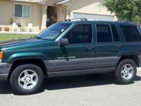 Jeep is in good condition, mild exterior scratches,