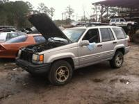 1996 Jeep Grand Cherokee - J005 4.0L L6 OHV 12V Engine