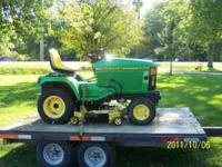 "Offered for sale is a 96 John Deere 425 with 54"" deck."