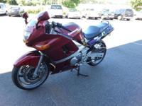 1996 Kawasaki ZX-600E. 18,300 miles on it. This bike