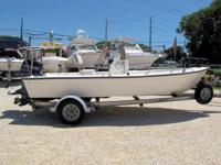 This 1996 Key West 17' Center Console is powered by a
