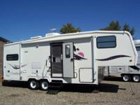 This Qaulity 1996 Kit Cordova 27Ft 5Th Wheel With A