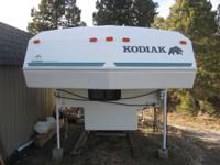 "Kodiak, 9' 5"" long camper, in great condition with new"