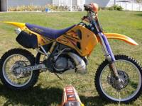 Great running KTM 360 with new tires and grips included