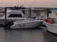 Well Maintained and runs great. Has VHF and Shakespeare