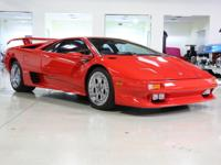 This 1996 Diablo is super clean and low mileage too-