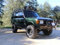 1996 Land Rover Discovery SE7 Sport Utility 4-Door.