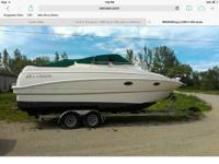 1996 larson cabrio 260 has sleeping room for six