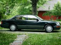 This Lexus LS400 has been in my family since 1998.