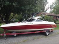 1996 Marada Super Sport 21 ft. Open Bow ski boat