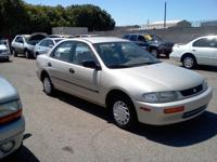 Options Included: N/A1996 Mazda Protege, automatic,