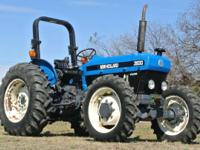 This is a perfect tractor for pulling a brush hog or