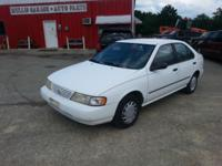 Here's a bargain on a gas saver ... 96 Nissan Sentra,