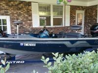 1996 Nitro Bass Boat Savage 884 (VERY GOOD CONDITION)