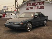 1996 Oldsmobile Cutlass Supreme 4D Sedan. 71,135k