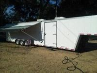 1996 Pace Shadow Elite 40LQ Toy Hauler- - 2 AC's 1 with