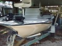 1996 18'6 Palm Beach Bay dancer, 7' wide Center Console