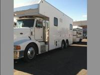This is a 2006 conversion on a 1996 Peterbilt. This is