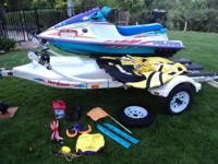 1996 780 SLT Polaris PWC, 2 to 3-seater in good