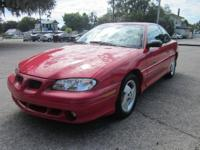 Here is a 1996 Pontiac Grand Am GT with power windows,